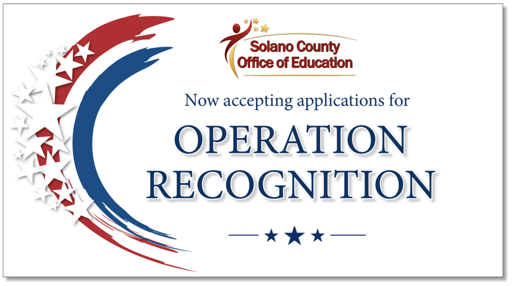 accepting applications for Operation Recognition
